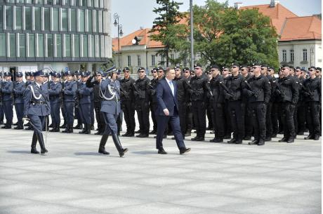 Uroczystości w Warszawie. Fot: mat.pras