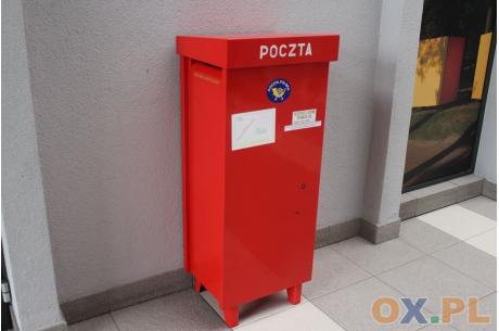 Skrzynka pocztowa w pasażu Oranżerii Zamku Cieszyn / fot. MSZ