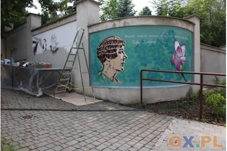 Nowe murale w Cieszynie / fot. MSZ