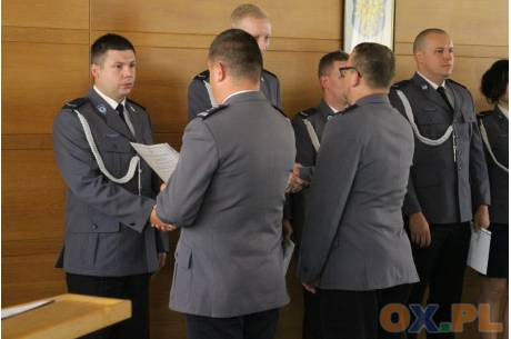 Uroczyste obchody Święta Policji w Cieszynie / fot. MSZ