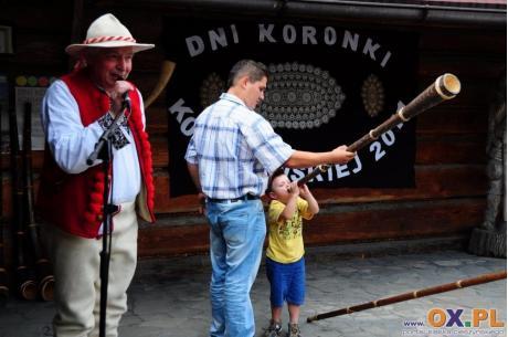 Święto Koronki to również tradycyjny konkurs gry na trombicie fot. arc