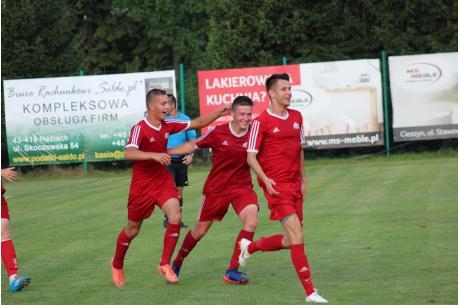 Z awansu cieszyli się także obrońcy trofeum, piłkarze WSS Wisła, fot. arch. ox.pl/Andrzej Poncza