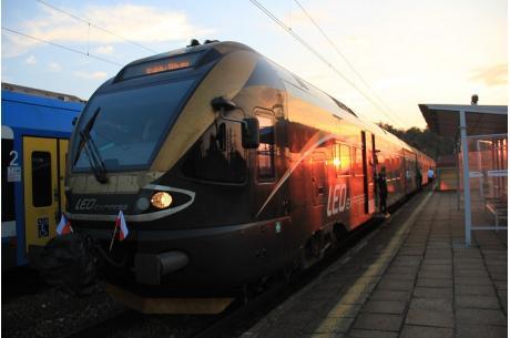 Pociąg Leo Express. Fot: PL