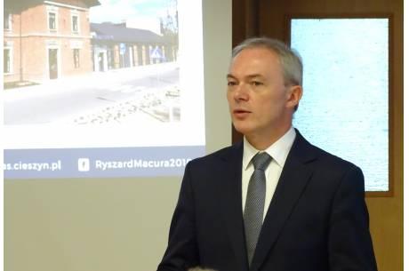 Ryszard Macura, mat. pras. komitetu