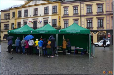 Placki na cieszyńskim rynku / fot. MSZ