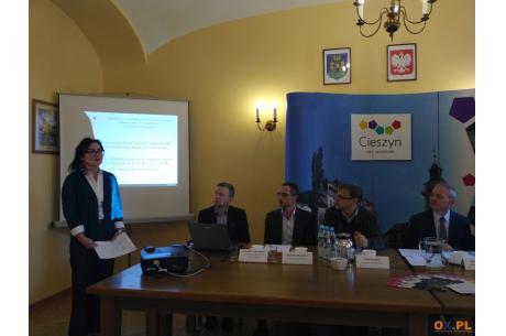 Konferencja prasowa UM Cieszyn / fot. MSZ