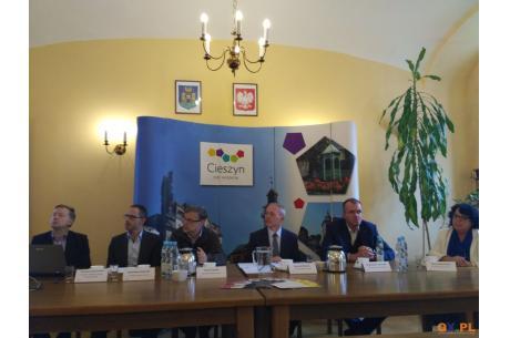 Konferencja prasowa na temat System Dynamicznej Informacji Pasażerskiej