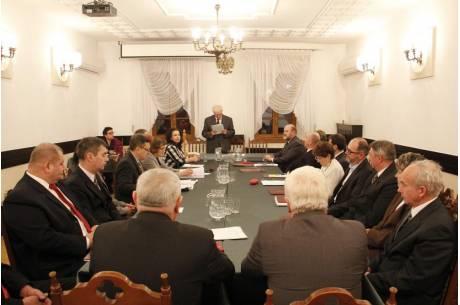sesja rady w Strumieniu / fot. arc.ox.pl
