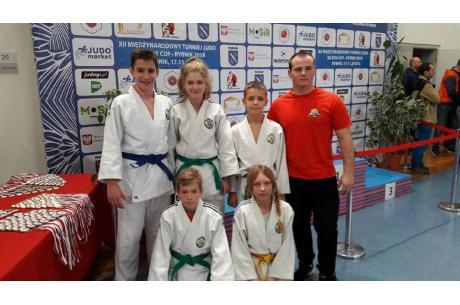 Do Rybnika wybrali się zawodniczy KS Cieszyn Judo, fot. .facebook.com/JudoCieszyn