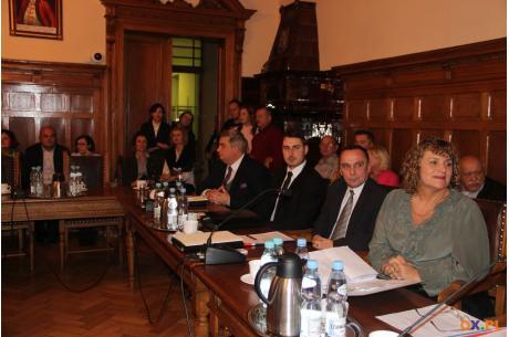 Sesja Rady Miejskiej Cieszyna / fot. MSZ