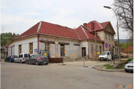 Dworzec w trakcie remontu. Fot: arc.ox.pl