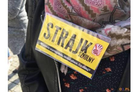 Od poniedziałku (08.04) trwa strajk nauczycieli / fot. MSZ