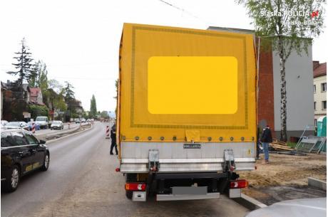 Przywłaszczony Renault Master Fot: KMP w Bielsku Bialej