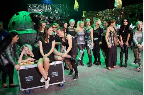 Zdjęcie z inauguracji 11. edycji Festiwalu Czytanie nad Olzą / fot. arc.ox.pl