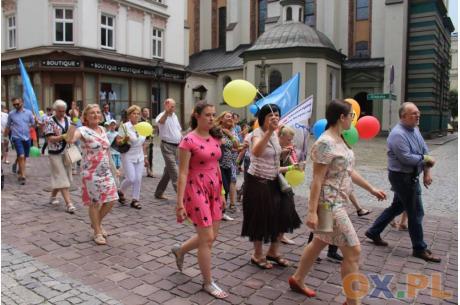 Ubiegłoroczny marsz. Fot: Marta Szymik
