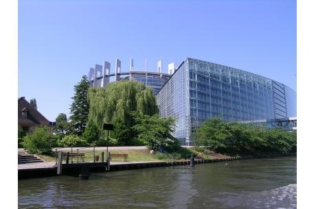 Parlament Europejski w Strasburgu; komisje spotykają się w Brukseli / źródło: pixabay.com