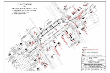 plan udostępniony przez Starostwo Powiatowe