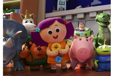 Kadr z filmu Toy Story 4 (Zwiastun filmu YT)