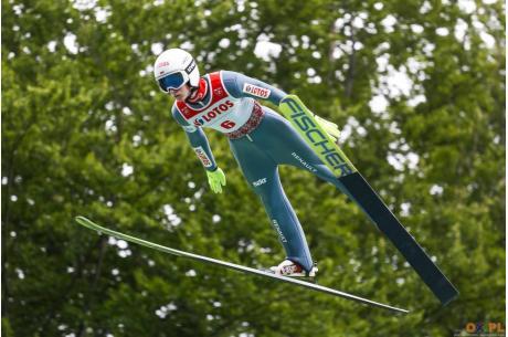 Powołanie na zakończenie sezonu otrzymał także Kacper Juroszek (WSS Wisła), fot. Bartłomiej Kukucz