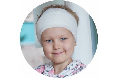 Dominika potrzebuje drogiego leczenia/ fot. mat.pras.