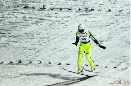 Piotr Żyła osiągnął najlepszy wynik w tym sezonie, fot. Bartłomiej Kukucz