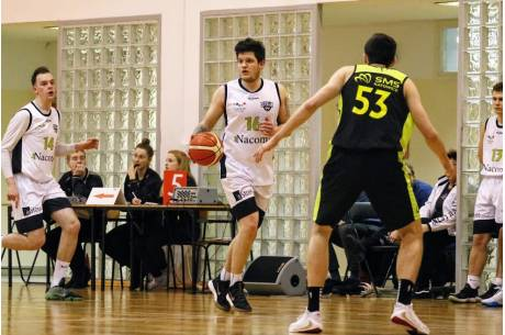 Dominik Malak (Nacomi) zdobył 20 punktów we wtorkowym spotkaniu, fot. Grzegorz Borus