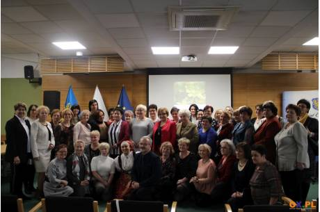 Poranek dla Kobiet Stela w Starostwie Powiatowym w Cieszynie / fot. MSZ