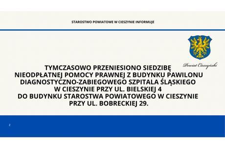 grafika opublikowana przez Starostwo Powiatowe w Cieszynie