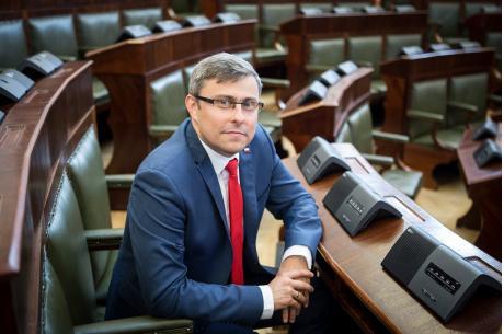 Wojewoda Śląski Jarosław Wieczorek fot. Śląski Urząd Wojewódzki