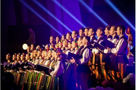 """Zespół """"Mazowsze"""" nagrał symboliczny utwór / fot. Mazowsze"""