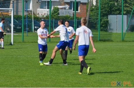 Pogórze,  w okresie przygotowawczym, poradziło sobie m.in. z GKS Czarni Jaworze (2:0), fot. Piotr Górecki