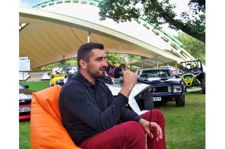 Marek Bujok - dyrektor GT Festiwalu. Fot. KR/ox.pl