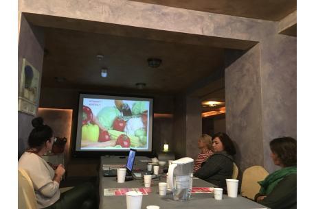 Rozmawiali na temat odporności, witamin i minerałów w Brennej / fot. MSZ