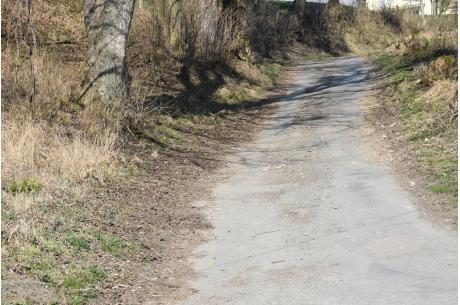 ul. Gazdów w Godziszowie przed remontem. Fot: UG Goleszów