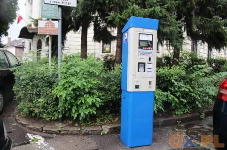 Na placu teatralnym w Cieszynie za parking zapłacisz kartą płatniczą / fot. MSZ
