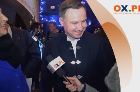 Andrzej Duda, prezydent RP wraz z małżonką pojawią się w sobotę na zawodach Konkursu Pucharu Świata, który rozpoczyna się w najbliższy weekend w Wiśle. Fot: arc.ox.pl