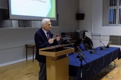Jerzy Buzek na Uniwersytecie Śląskim / fot. KR/ox.pl