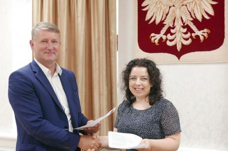 Miroslav Minárčik oraz Anna Grygierek / fot. mat. pras.