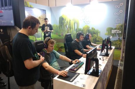 Targi Gamescom to największe targi branży gier wideo na świecie. Fot: mat.pras.