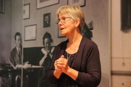 Anna Fenby-Taylor wnuczka Zofii Kossak  / fot. MSZ