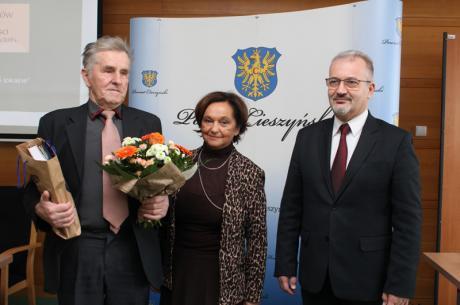 Fryderyk Białoń to najdłużej urzędujący sołtys z terenu ziemi cieszyńskiej / fot. mat.pras.