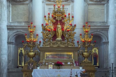 Ciało św. Łucji. Fot: Didier Descouens/wikipedia