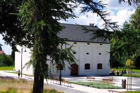 Plac W. Wawrzyczka i dom Przyrodnika/ fot. mat.pras.