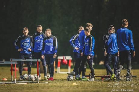 Trening Podbeskidzia w Dankowicach z 5 marca br. Fot. Jakub Ziemianin / tspodbeskidzie.pl
