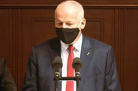 Czeski Minister zdrowia Roman Prymula. Fot. ČT24