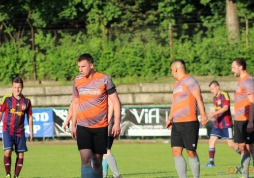 Piłkarze Sportkontaktu są uważani za faworytów, w walce o mistrzostwo A klasy. Fot. Andrzej Poncza