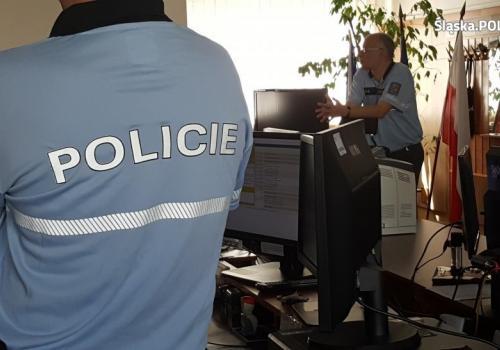 Dzięki współpracy polskich i czeskich mundurowych nie doszło do tragedii. Fot: KPP w Cieszynie