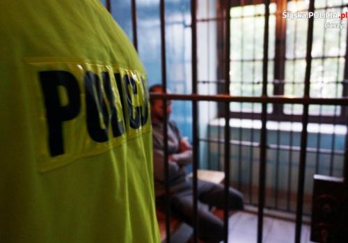 Mężczyzna trafił do aresztu. Fot: KPP w Cieszynie