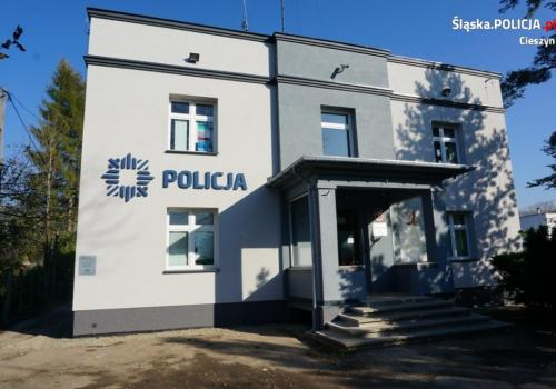 2 promile miał mężczyzna który przyjechał samochodem zgłosić przestępstwo. Fot: arc. KPP w Cieszynie