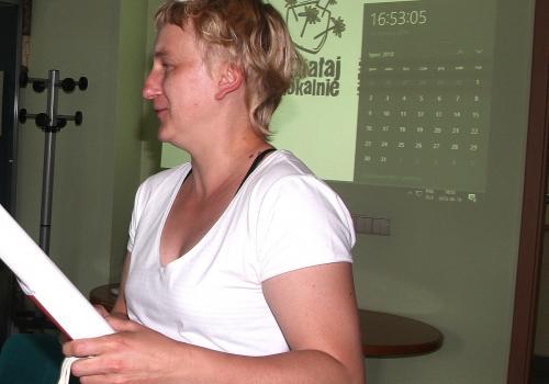 Anna Zachurzok - koordynator projektu. Fot: (indi)